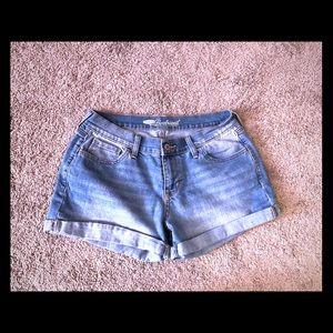 Boyfriend jean shorts from old navy